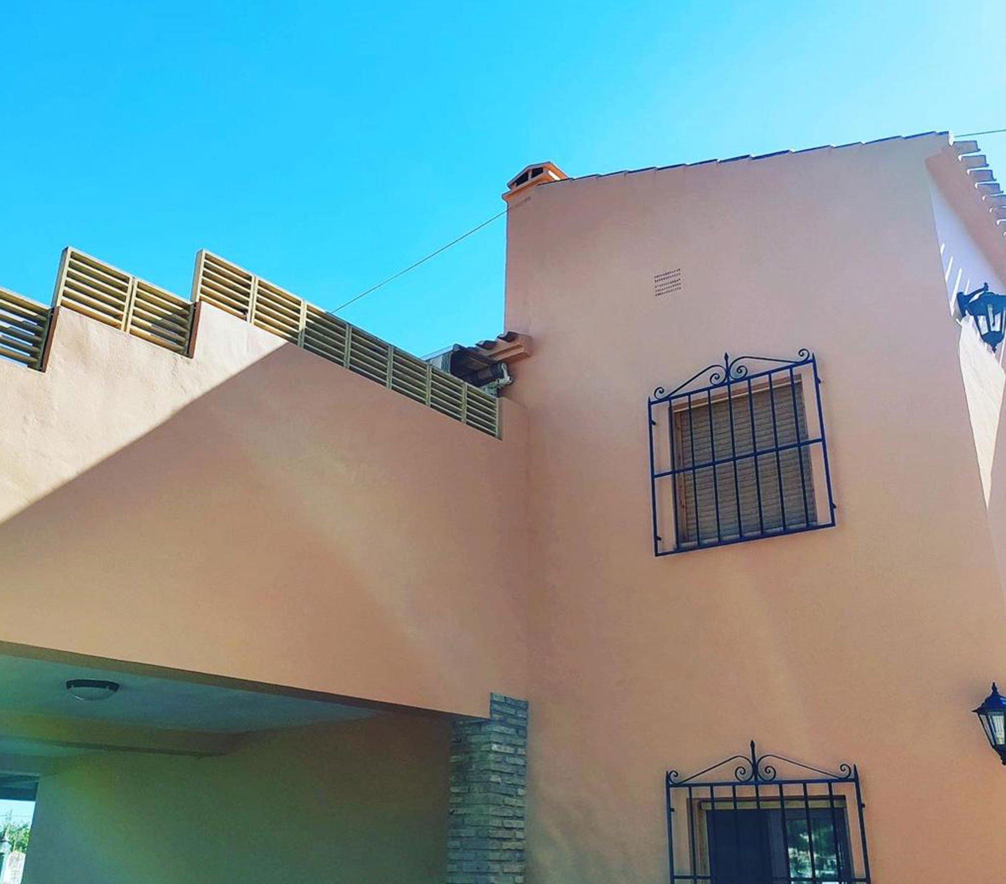 Después de la pintura de una fachada – Pinturas Juanvi Ortolà