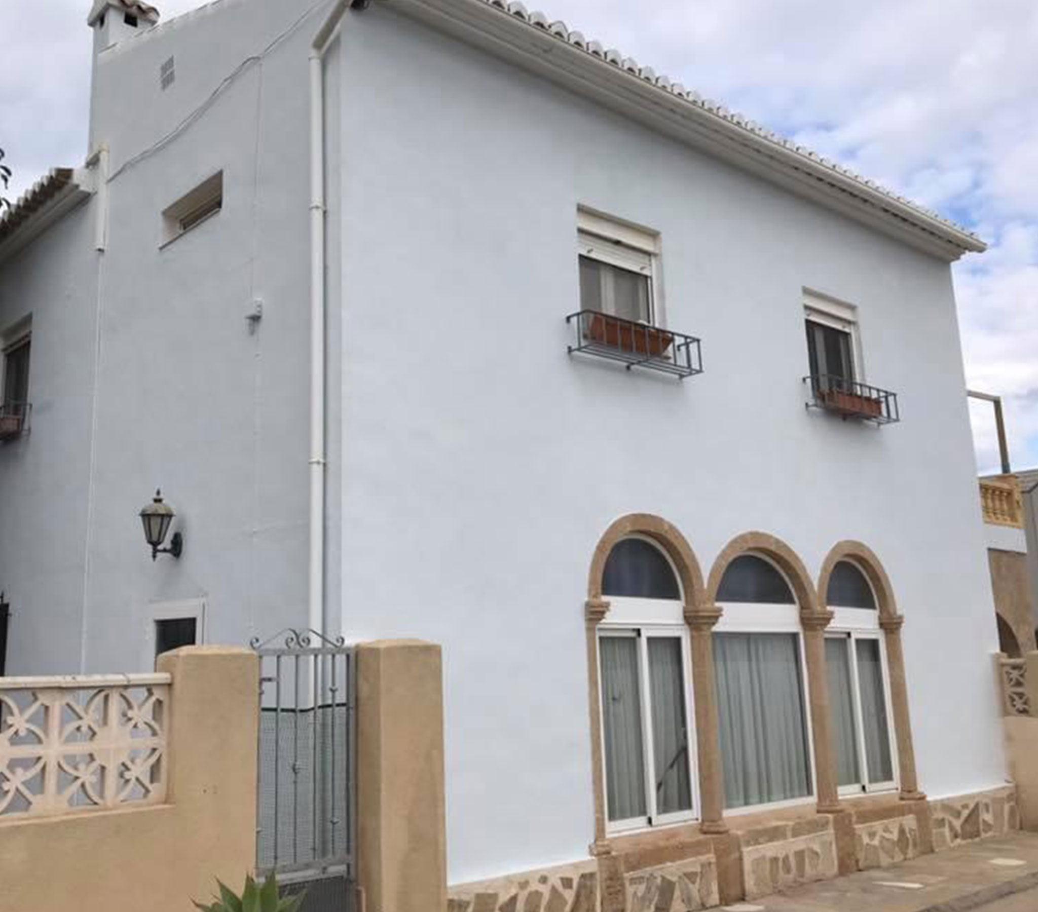 Después de la remodelación de una fachada – Pinturas Juanvi Ortolà