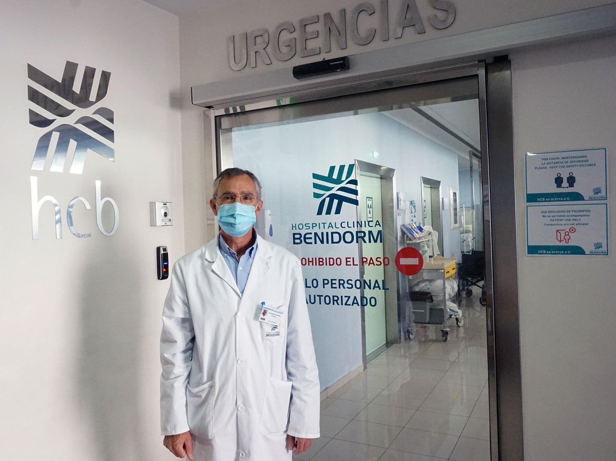 El doctor Fernando Sánchez Ruano, de Hospital Clínica Benidorm (HCB)