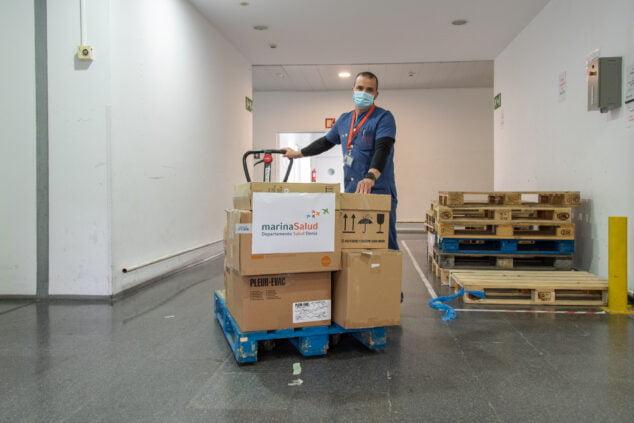 Imagen: Donación del Hospital de Dénia