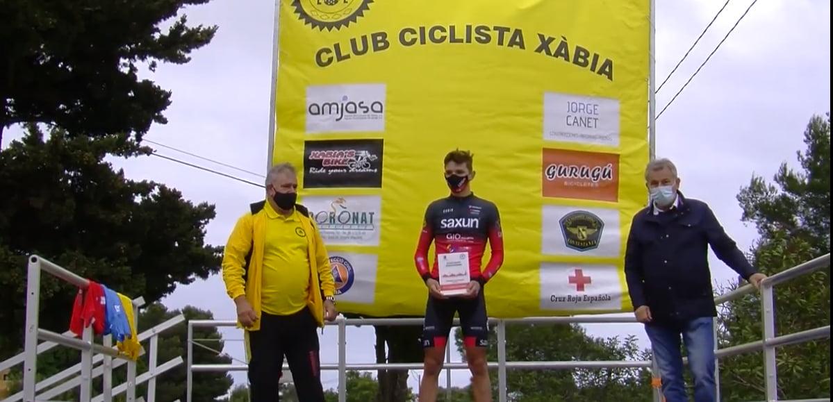 Héctor, ganador del trofeo Jesús Nazareno