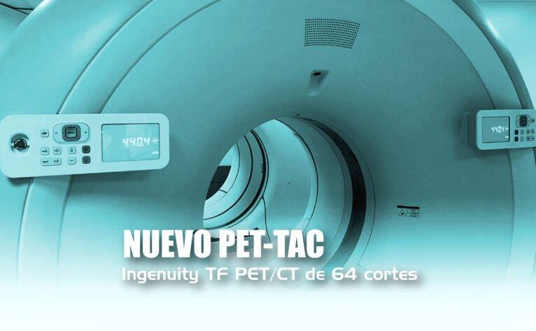 Imagen informativa del nuevo PET-TAC de Medicina Nuclear - Hospital Clínica Benidorm (HCB)