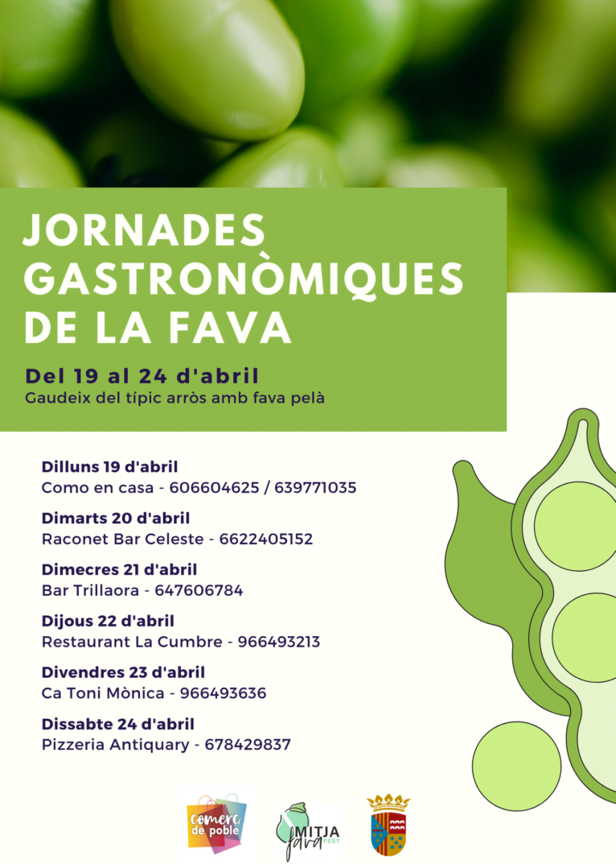 Jornadas Gastronómicas Mitjafava Fest