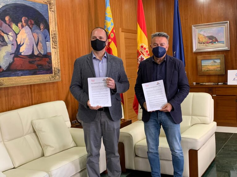 José Chulvi y Rubén Dalmau
