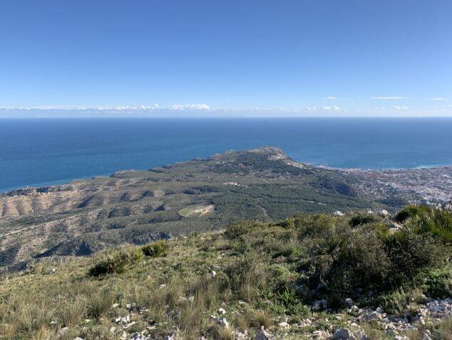 Imagen: La Plana desde el  Montgó