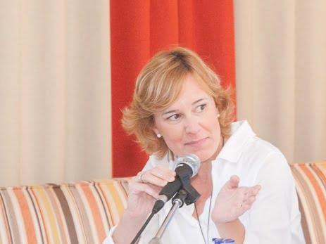 La portavoz del PP, Rosa Cardona