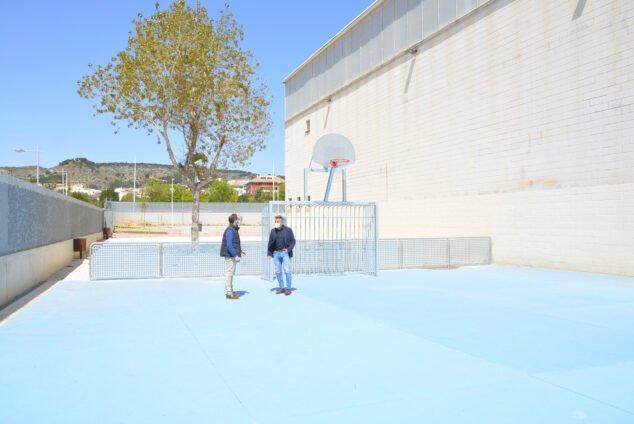 Imagen: Mejora y recuperación de la pista de futbol sala