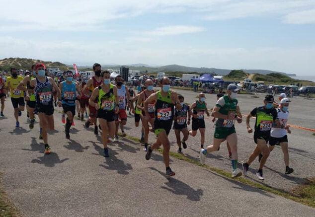 Imagen: Nasio Cardona durante la carrera