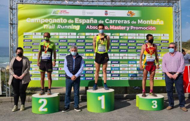 Imagen: Nasio en el segundo puesto del podio