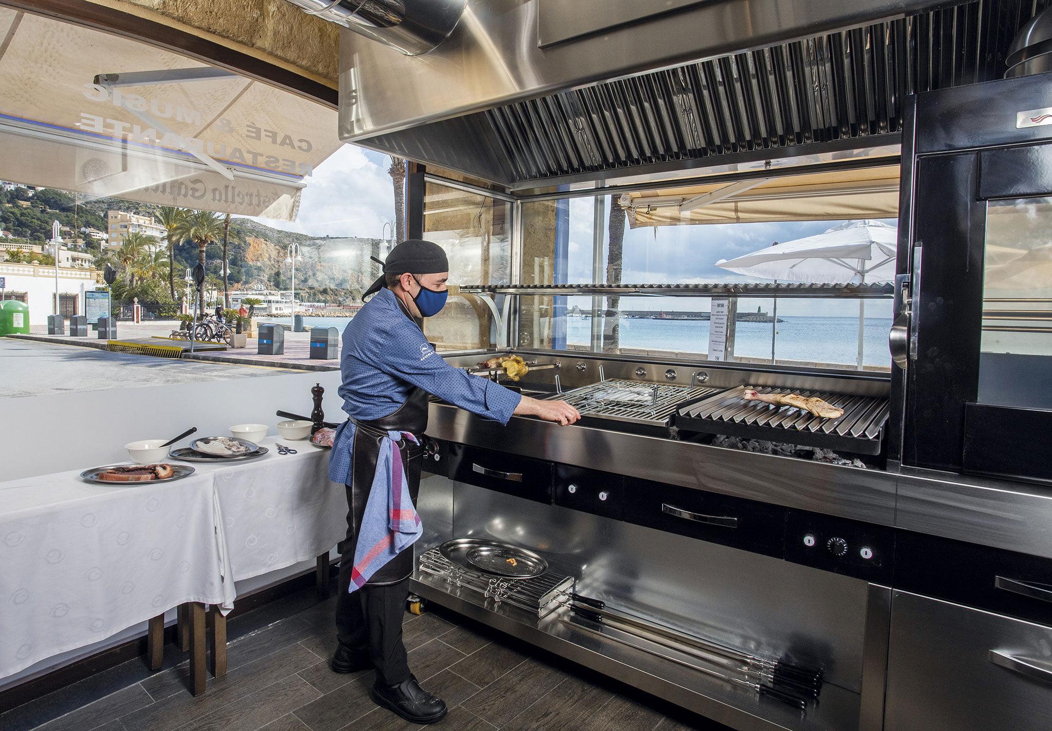 Nuevas brasas – Restaurante Noray