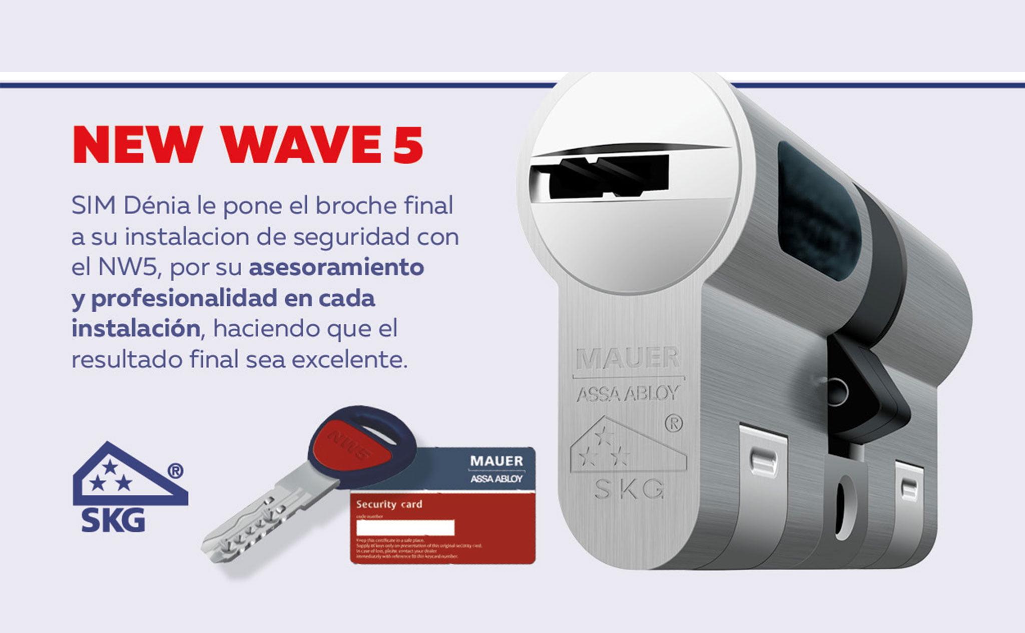Cilindro de alta seguridad NW5 – SIM Dénia