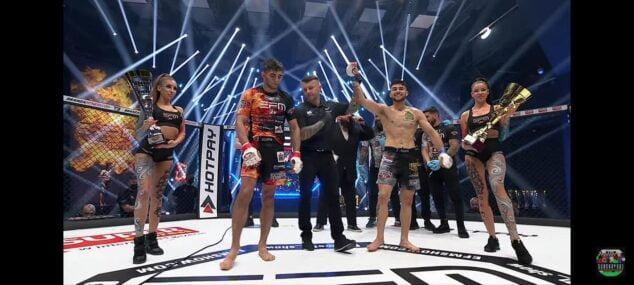Imagen: Pepe Torres al proclamarse campeón