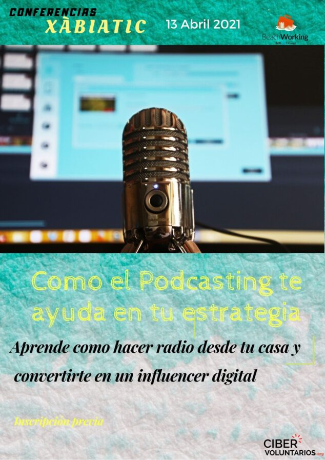 Imagen: Taller de Podcasting Xàbia