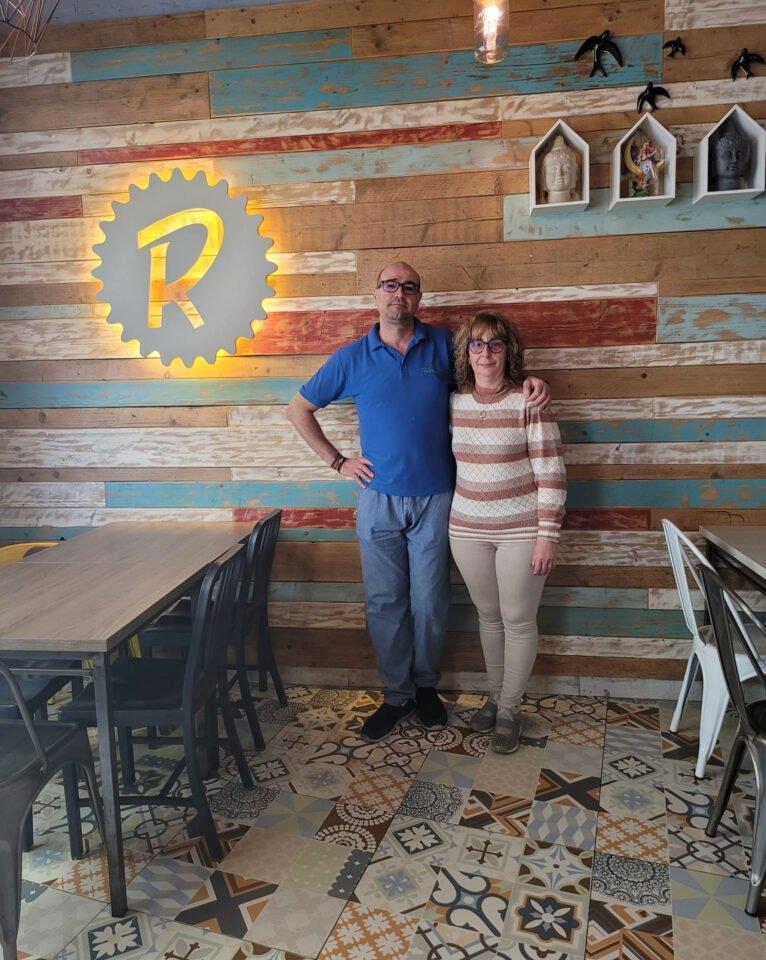 Willy y María, gerentes de El Raconet