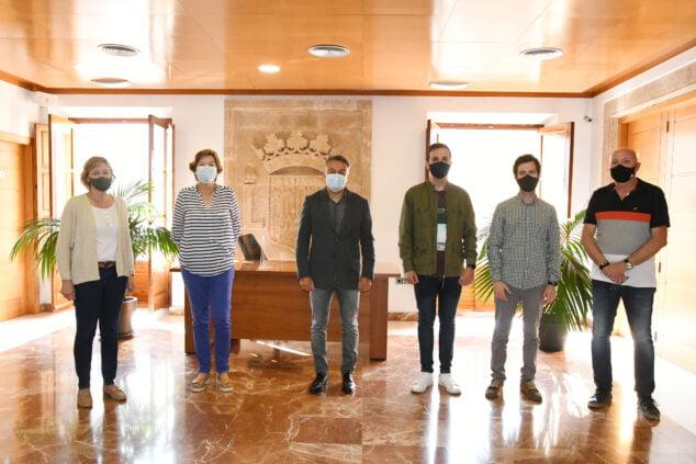 Imagen: Acuerdo portavoces Ayuntamiento de Xàbia