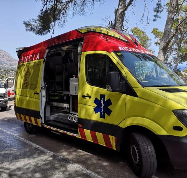 Imagen: Ambulancia del SAMU