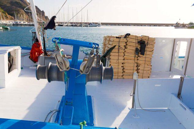 Imagen: Barco de pesca