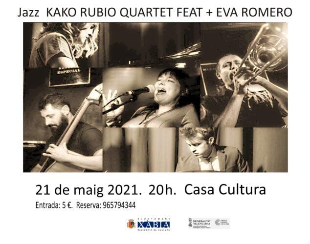 Imagen: Concierto de Jazz de Kako Rubio Quartet