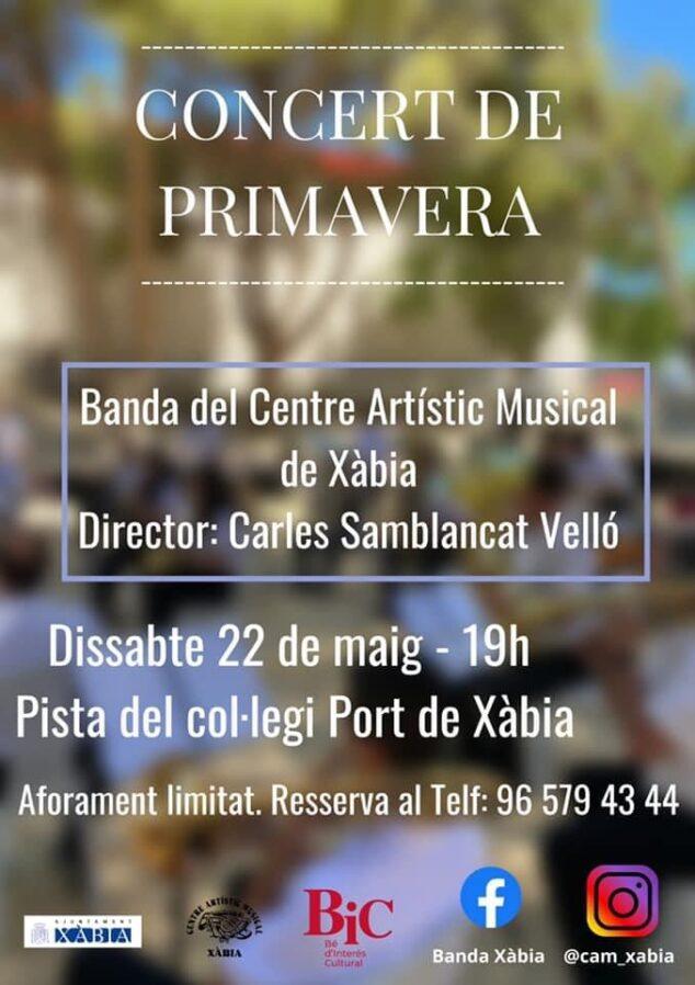 Imagen: Concierto de Primavera de la Banda de Xàbia