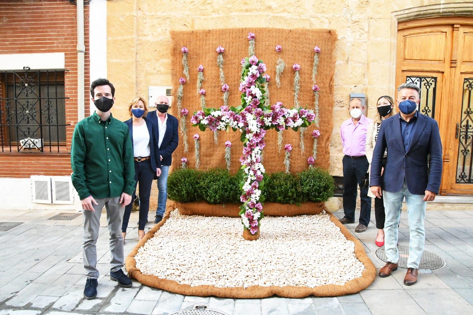 Cruz de flores de la Calle Jesús Nazareno
