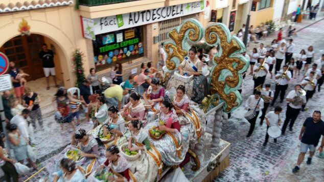 Imagen: Desfile de Carrozas de 2018