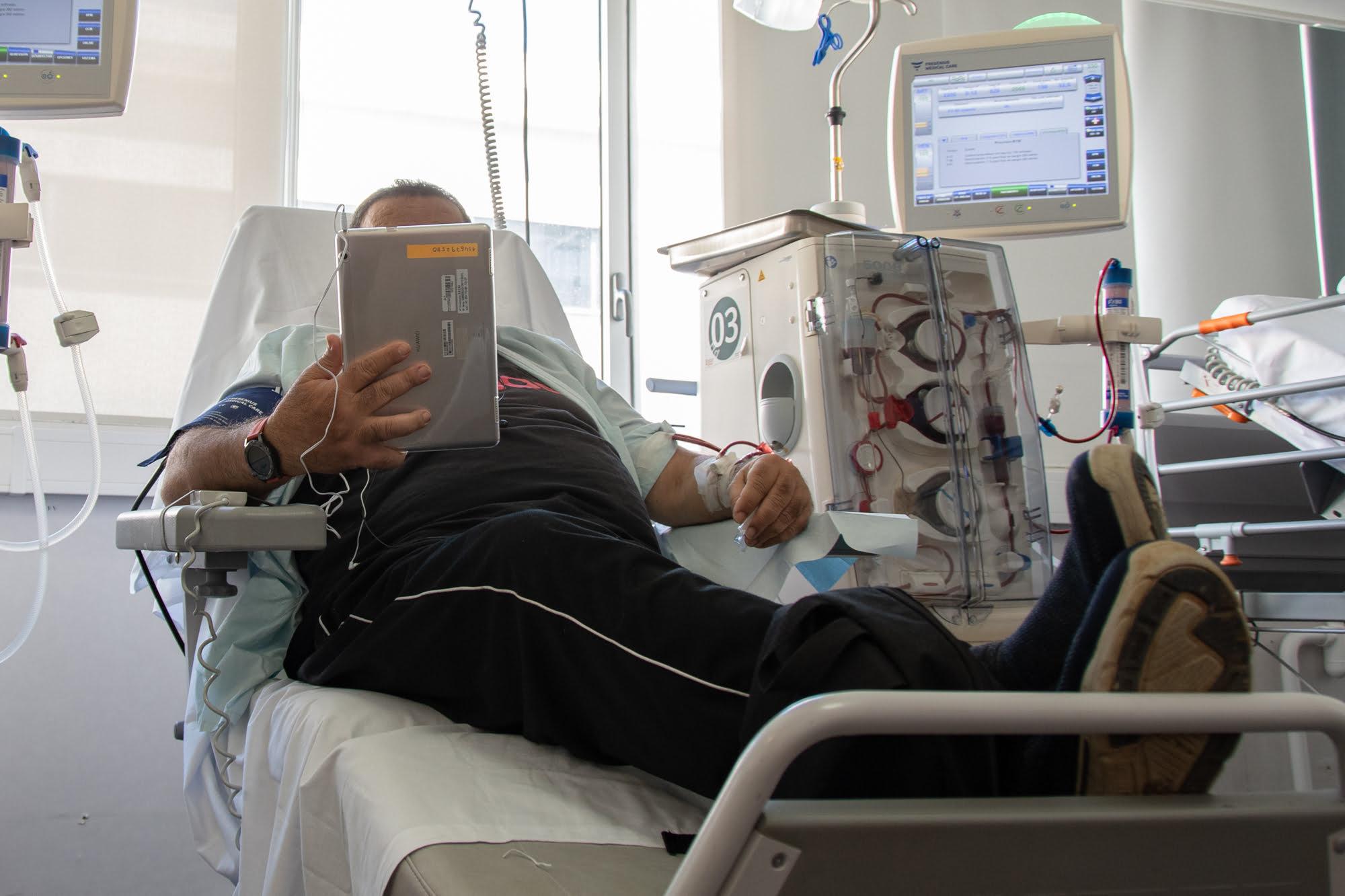 Donación de Tablets Hospital de Dénia
