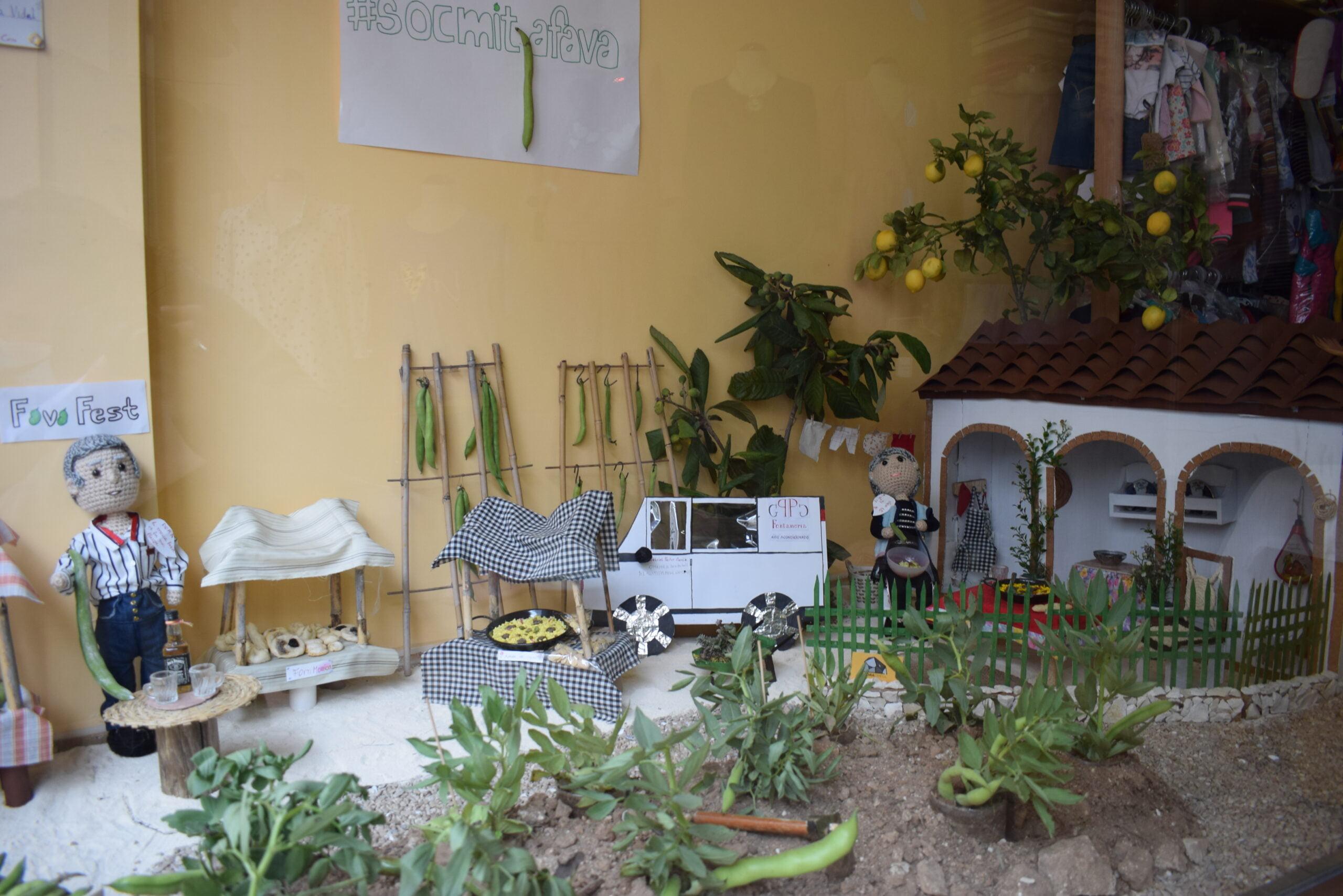 Concurso escaparates 'socmitjafava'