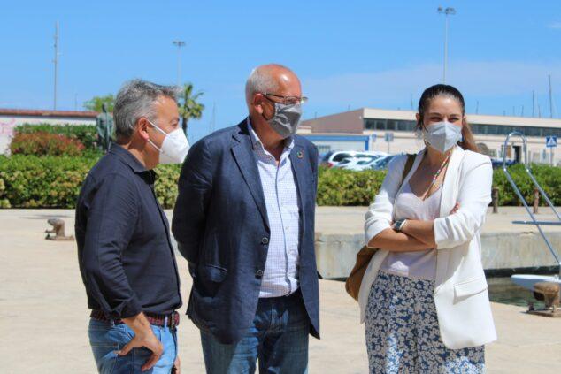 Imagen: El alcalde de Xàbia en la recepción