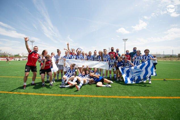 Imagen: Equipo femenino del Deportivo Alavés