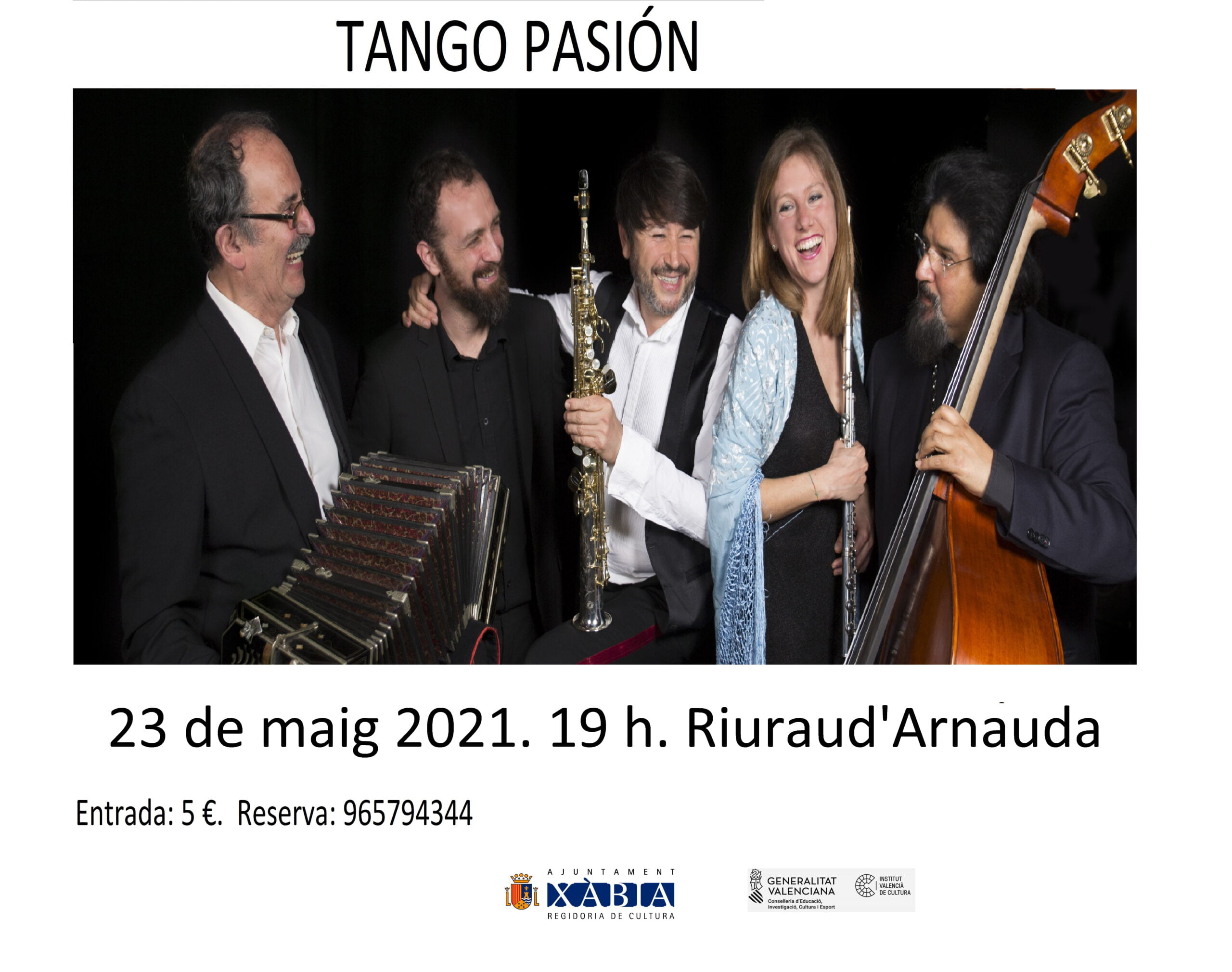 Espectáculo de Tango Pasión