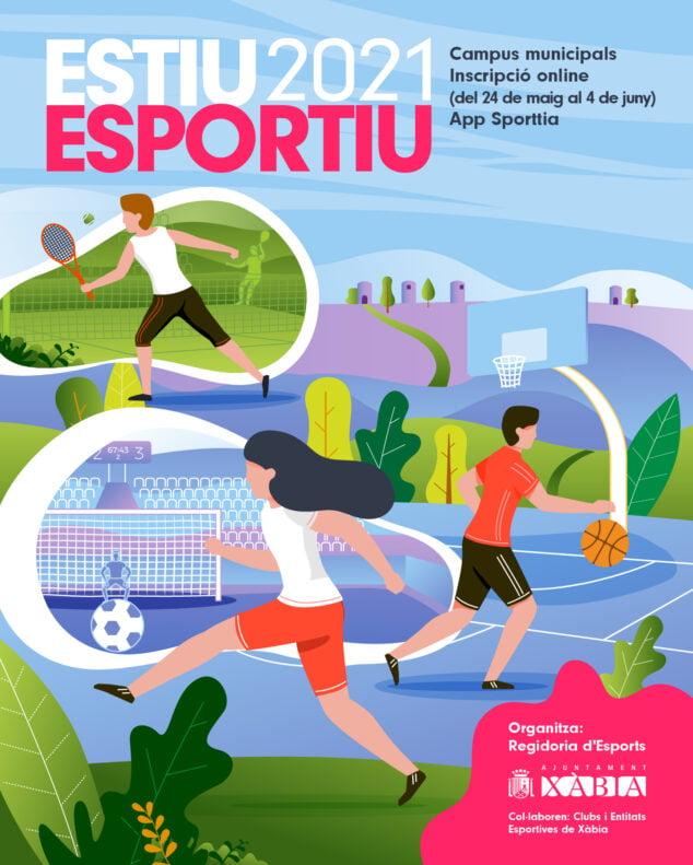 Imagen: Estiu Esportiu 2021 en Xàbia