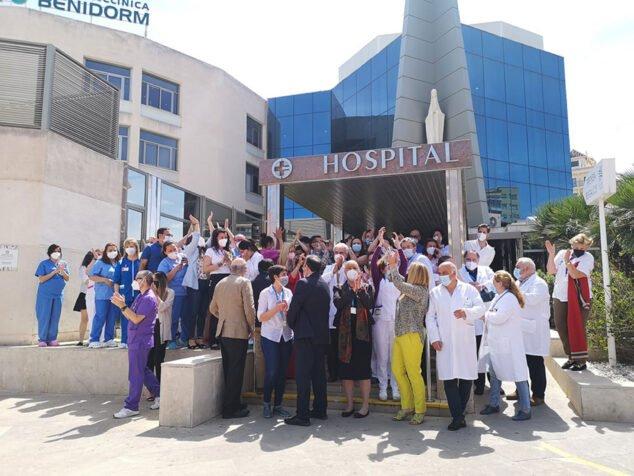 Imagen: Hospital Clínica Benidorm celebra la nueva acreditación internacional