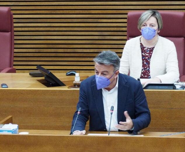 Imagen: Intervención de José Chulvi en Les Corts