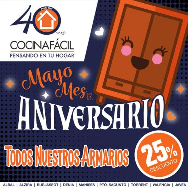 Imagen: Mayo es el mes del aniversario de Cocina Fácil