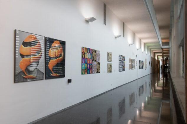 Imagen: Exposición de Ernesto Ventós en el Hospital de Dénia