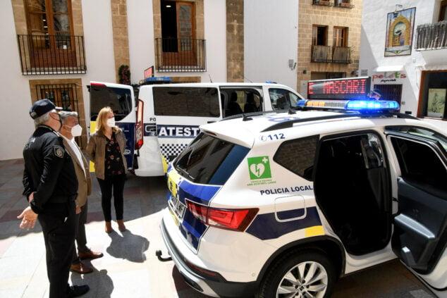 Imagen: Nuevos vehículos de la Policía Local de Xàbia