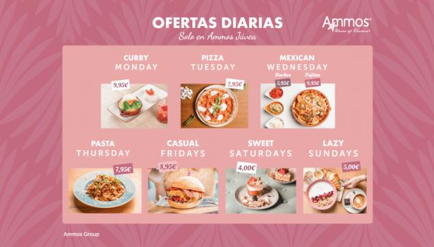 Imagen: Ofertas diarias en Restaurante Ammos