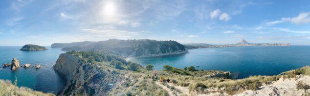 Imagen: Panorámica de Xàbia desde el Cap Prim