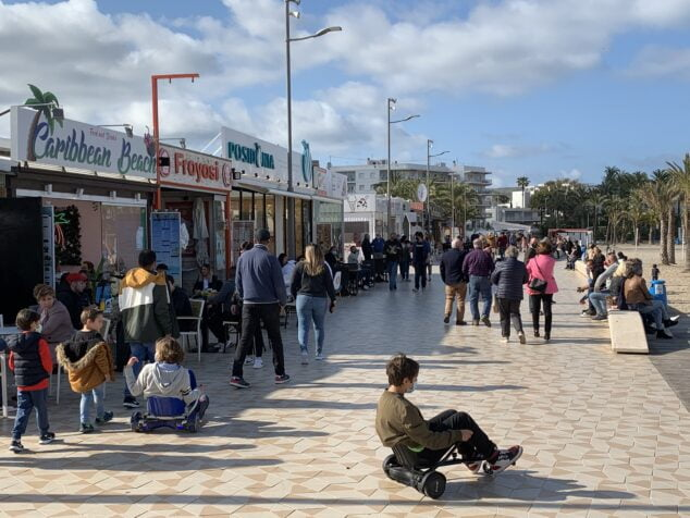 Imagen: Paseo del Arenal de Xàbia