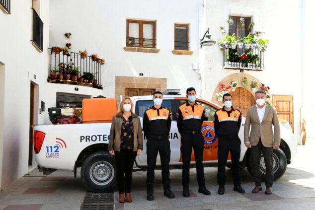 Imagen: Prácticas en Protección Civil