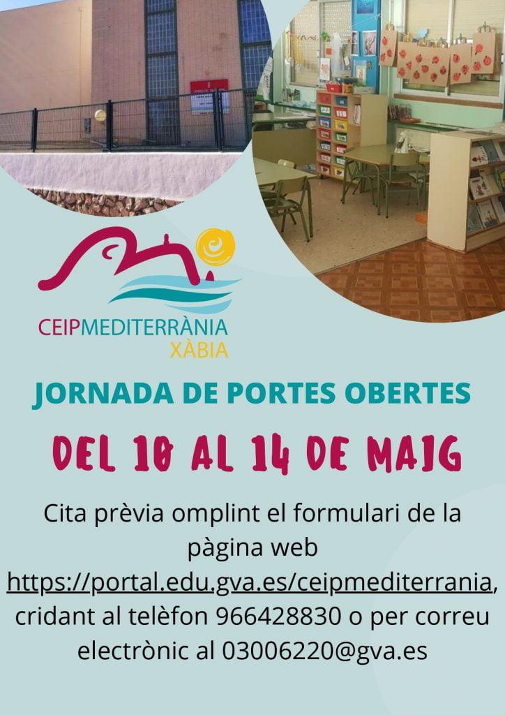 Puertas abiertas CEIP Mediterrània