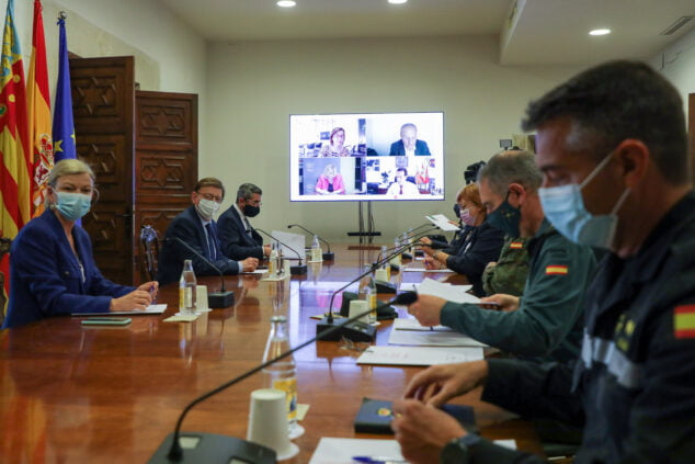 Imagen: Reunión de coordinación de seguridad de medidas COVID-19