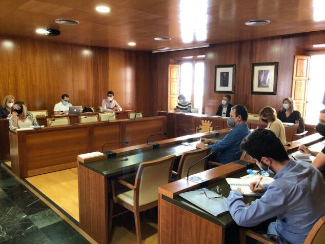 Imagen: Reunión de la Comisión de Saneamiento