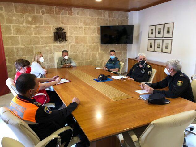 Imagen: Reunión de Seguridad