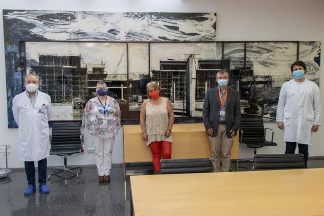 Imagen: Reunión Hospital de Dénia con Fibromialgia