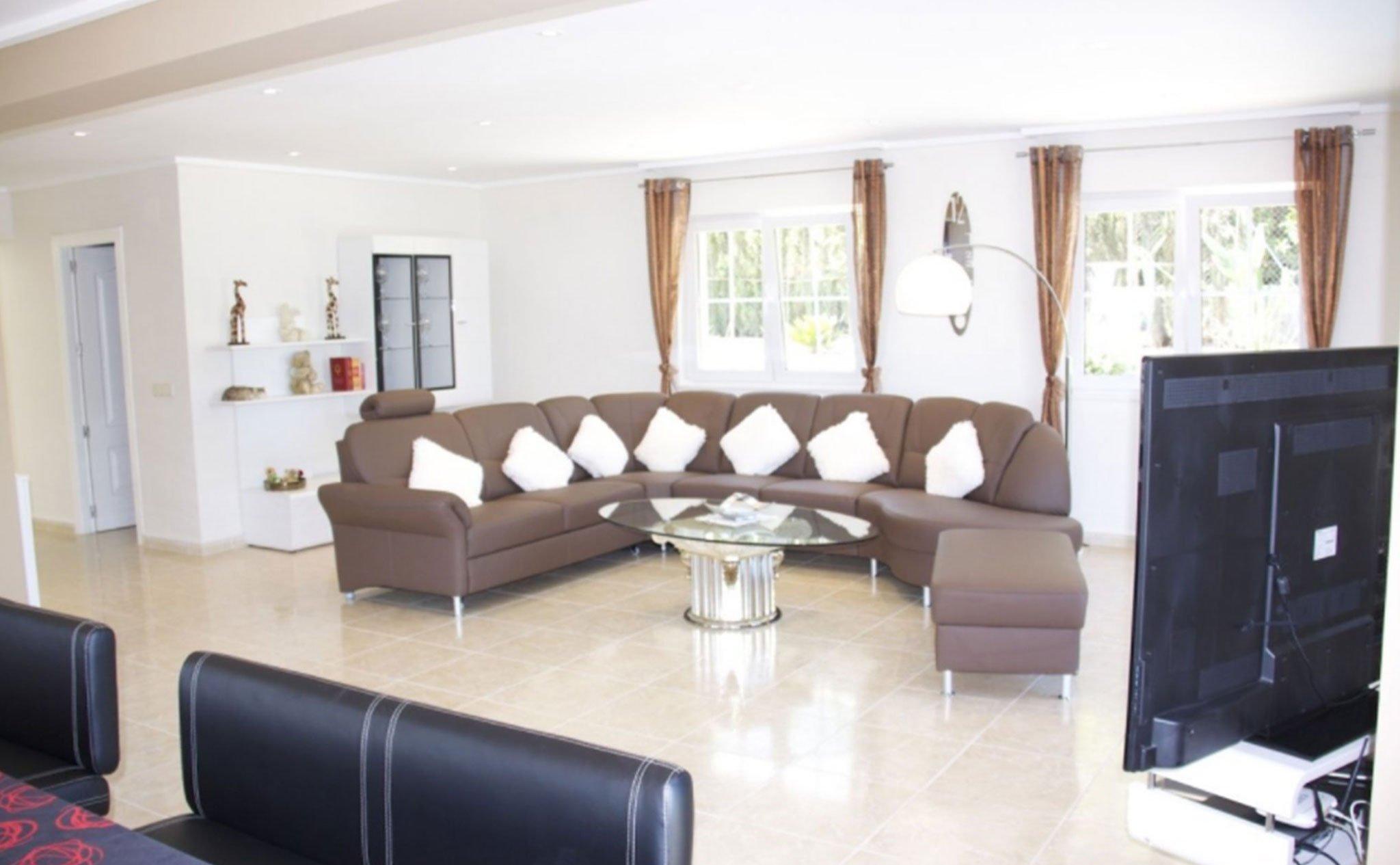 Salón de una villa de alto standing – Terramar Costa Blanca