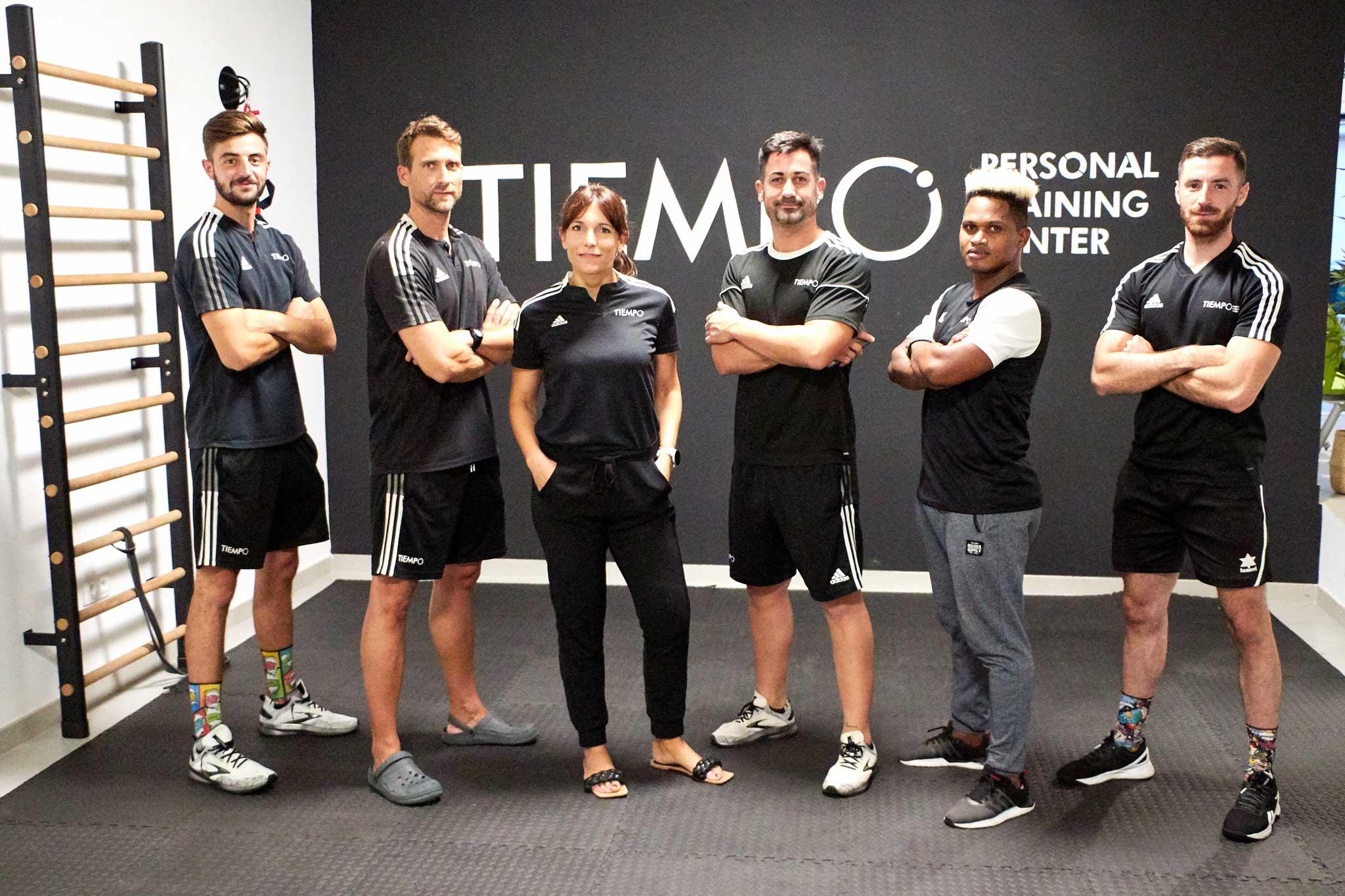 Tiempo Personal Training Center – Equipo