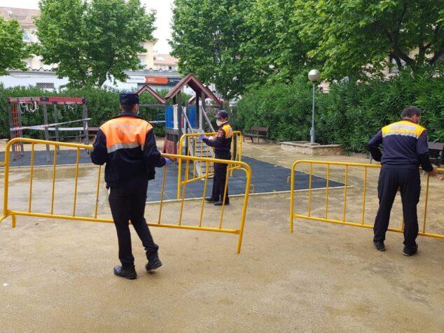 Imagen: Voluntarios de Protección Civil Xàbia
