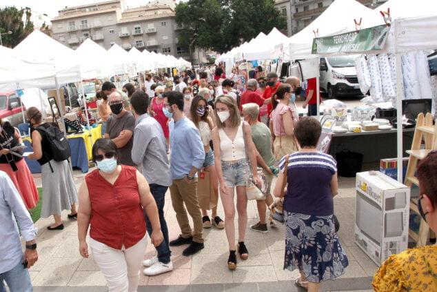 Imagen: Ambiente en la I Feria del Stock de la Marina Alta