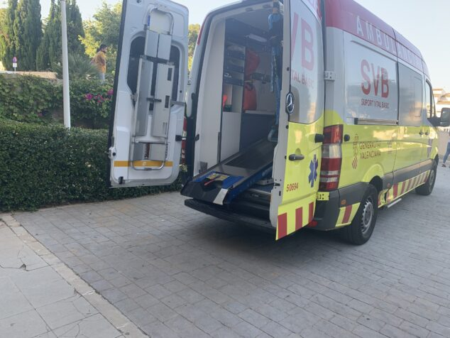 Imagen: Ambulancia de SVB